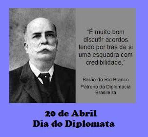 Resultado de imagem para Dia do Diplomata